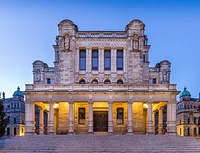 British Columbia Parliament Building in Victoria, British Columbia, Canada 07.jpg