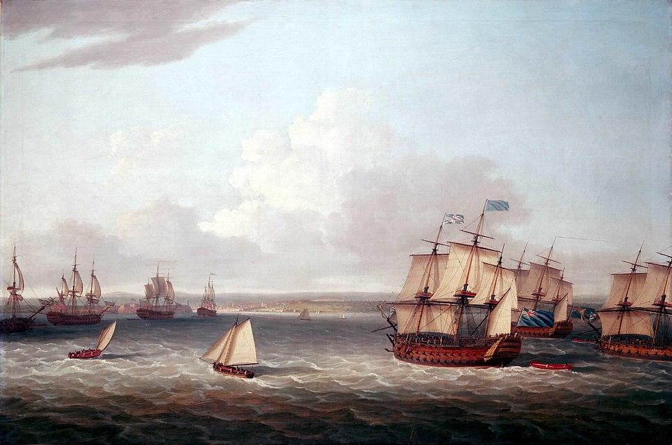 British fleet entering Havana