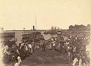 British forces arrival mandalay1885