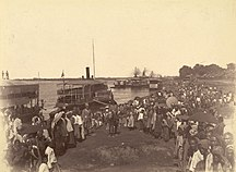 Burma-Burma in British India-British forces arrival mandalay1885