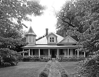 Broadus Edwards House - Broadus Edwards House, August 2012