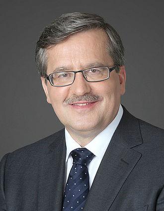 Polish presidential election, 2010 - Image: Bronisław Komorowski official cropped