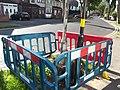 Brooklands Road, Hall Green - new lamppost installation - base (7949226296).jpg