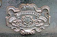 Brown Marshalls & Co Carriage Builders Plate Talyllyn Rly 2015.jpg