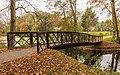 Bruggetje achter in het park. Locatie, Historisch Park Heremastate 01.jpg
