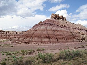 Morrison Formation - Brushy Basin Member on the Colorado Plateau