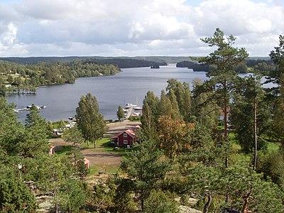 Stora Le vid Nössemark i norra Dalsland