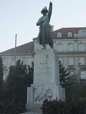 Józef Bem - Image: Budapeszt pomnik Jozefa Bema 1