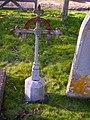Bullington - Iron Grave Marker - geograph.org.uk - 672868.jpg