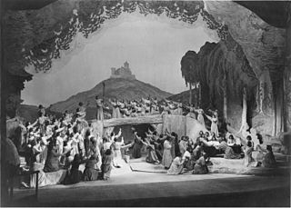 <i>Tannhäuser</i> (opera) Opera by Richard Wagner