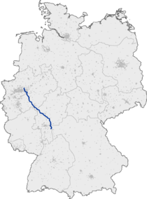 Bundesautobahn 45 map.png