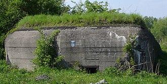 Fortified Area of Silesia - Another Polish bunker in Lagiewniki