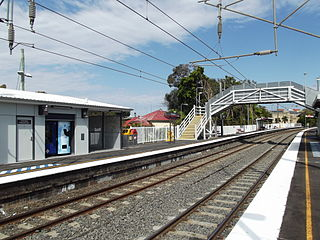 Buranda railway station railway station in Brisbane, Queensland, Australia