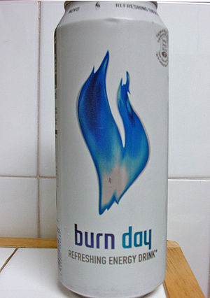 Burn (energy drink) - Burn day