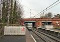 Bury Tram Leaving Crumpsall - geograph.org.uk - 1714103.jpg