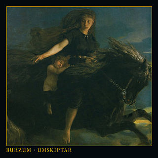 <i>Umskiptar</i> 2012 studio album by Burzum