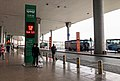 Bus stop of Airport Shuttle Route 5 at ZBAA T3 (20180403153616).jpg