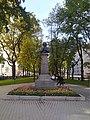Bust of Nikolai Gogol in Kharkiv 01.jpg