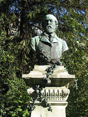 Henri Murger - Monument to Henri Murger in the Jardin du Luxembourg, Paris