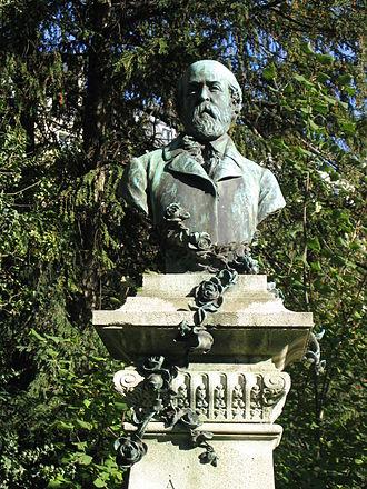 Henri Murger - Monument to Henri Murger in the Jardin du Luxembourg, Paris