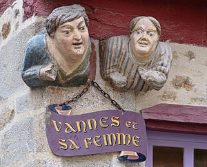 "Vannes - ""Vannes and his wife"""