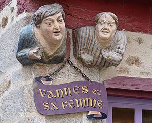 "Vannes - ""Vannes and his wife"""