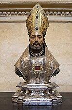 Busto-relicario de San Laureano (Tesoro de la catedral de Sevilla).jpg