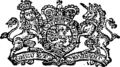 By his Majesty's Royal letters patent Fleuron T223976-1.png