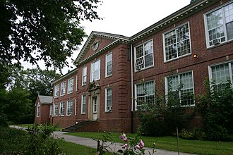 National Register of Historic Places listings in Greenwich, Connecticut - Image: Byram School Buildling