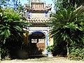 Cổng từ đường Đào Duy Từ ở khu phố Ngọc Sơn Bắc, phường Hoài Thanh Tây, thị xã Hoài Nhơn, tỉnh Bình Định..jpg