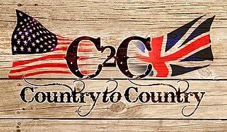 C2C: Country to Country - Image: C2C Country To Country Logo
