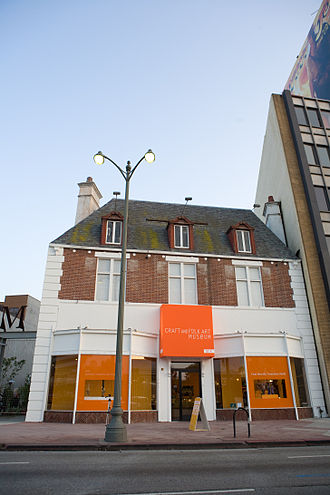Craft and Folk Art Museum - Image: CAFAM Exterior