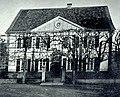 CHRONIK DER FAMILIE FLENDER, Ludwig Voss (Verlag), Düsseldorf 1900, Vordere Ansicht des Flender'schen Stammhauses, Kräwinklerbrücke bei Lennep.jpg
