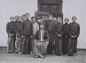 Blora Regency - Regent of Blora, Raden Toemenggoeng Ario Said, during colonial period. June 5, 1921.
