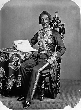 Raden Saleh - Raden Saleh in 1872