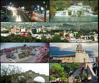 Ciudad Valles City in San Luis Potosí, Mexico