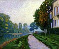 Caillebotte - By the River, the Effect of Morning Fog, circa 1875.jpg