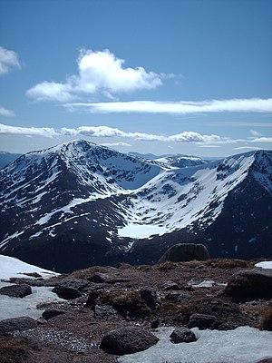 Sgòr an Lochain Uaine - Image: Cairngorms 119
