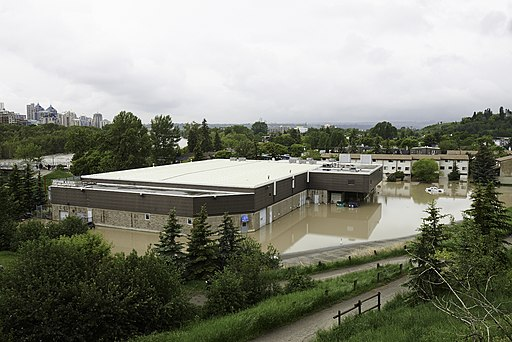 Calgary Curling Flooded