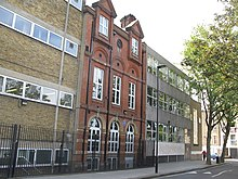 Camden School for Girls, Sandall Road, NW1 - geograph.org.uk - 1404448.jpg