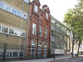 Camden School for Girls - Image: Camden School for Girls, Sandall Road, NW1 geograph.org.uk 1404448