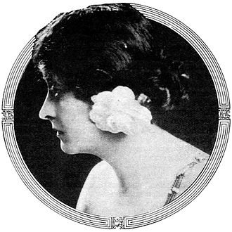 Camille (1915 film) - Clara Kimball Young as courtesan Marguerite Gautier in Camille