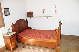 Bedroom in Camilo Castelo Branco House, Famali...