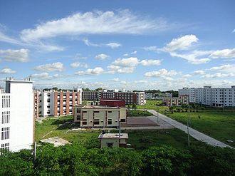Begum Rokeya University - Rear View of Campus, Begum Rokeya University, Rangpur