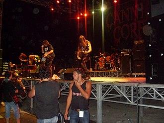 Agglutination Metal Festival - Cannibal Corpse at the Agglutination Metal Festival 2010