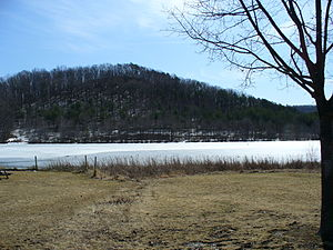 Frankstown Township, Blair County, Pennsylvania - Canoe Lake at Canoe Creek State Park