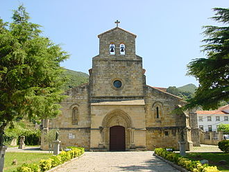 Alfonso Fróilaz - The monastery of Santa María del Puerto in Santoña, which lay within Alfonso's subkingdom in 926–32