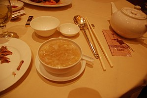 Cantonese seafood soup - Image: Cantoneseseafoodsoup