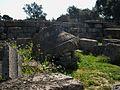 Capitell caigut del temple de Zeus d'Olímpia.JPG