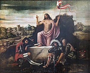Giovanni da Asola - The Resurrection of Christ - San Francesco della Vigna